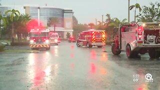 Fire crews investigate smell of smoke at Jupiter Medical Center