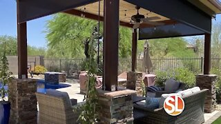 All Pro Shade Concepts shades your home with roll down shades