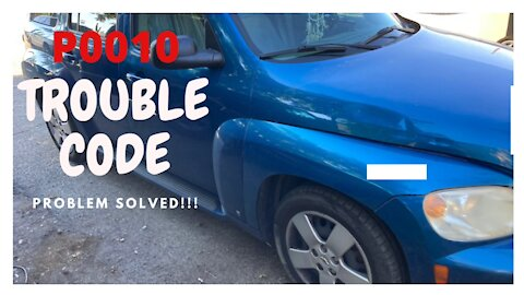 How to repair trouble code P90010 - Chevy HHR - How to save $100 in parts doing it.