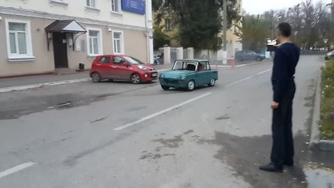 This IS What Happens When You Put Powerful Engine In An Old Vehicle