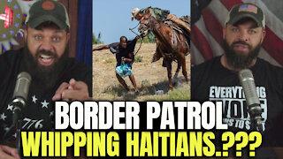 Border Patrol Whipping Haitians..?