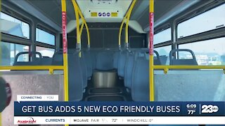 GET Bus adds eco-friendly busses to the street