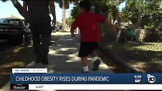 Childhood obesity rises during pandemic