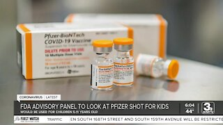FDA Advisory Panel meets Tuesday to discuss vaccine approval for kids five and older