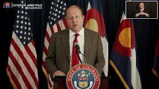 Gov. Jared Polis provides update on COVID-19 in Colorado