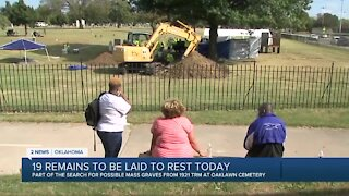 1921 Graves Investigation Interment Ceremony to be held Friday amid controversy over 'reburial process'