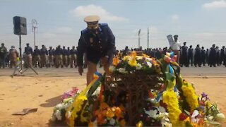 Memorial for slain Mayor