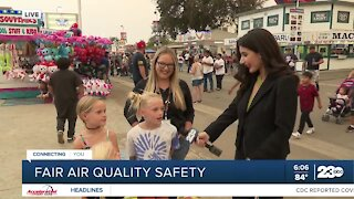 Kids express excitement to be back at Kern County Fair