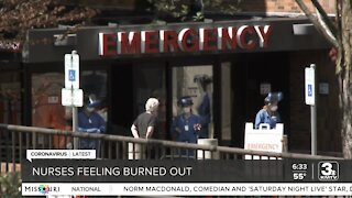Healthcare workers experiencing burnout amid COVID surge