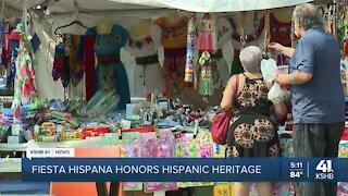 Fiesta Hispana returns to Barney Allis Plaza after COVID-19 canceled celebration last year