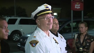 Man injured in officer-involved shooting at Cleveland grocery store