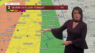 Severe Storms Possible Late Tonight