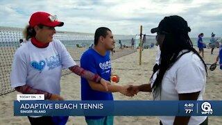 Adaptive tennis event held on Singer Island