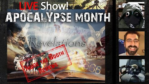 LIVE Talk Show! Apocalypse month! Revelations over view and Chapter 21!