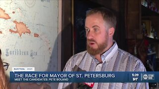 Race for Mayor: Pete Boland wants to 'fight for the little guy' in St. Pete