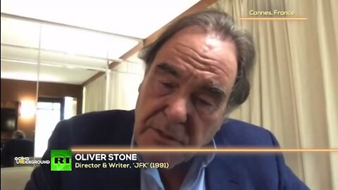Oliver Stone Talking About His New Film: 'JFK Revisited: Through The Looking Glass' w/ Afshin Rattansi
