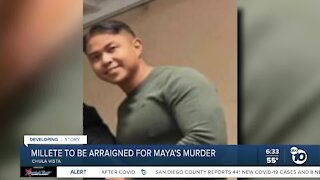 Larry Millete to be arraigned in death of wife Maya