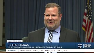 Crews work on construction projects at local schools