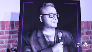 Friends and family remember Palm Beach County comedian with charity show