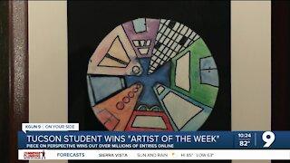 Student wins art contest