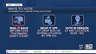 Maricopa County jurisdictional elections less than a week away