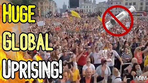 HUGE GLOBAL UPRISING! - Australia, Britain, France & Italy STAND UP To JAB PASSPORT TYRANNY!