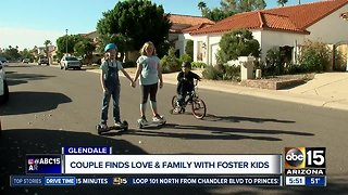 Valley couple finds love by opening their home to foster children
