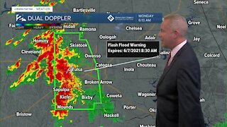High water rescues and flooding across Green Country