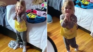 Dad finds creative way to get daughter to clean her room