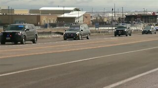 Agencies from across Rocky Mountains honor Officer Talley with procession