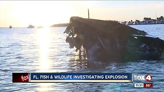FWC investigating explosion