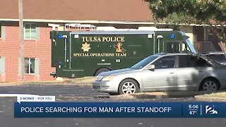 Police searching for man after standoff