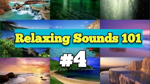🏖RELAXING SOUNDS 101 #4