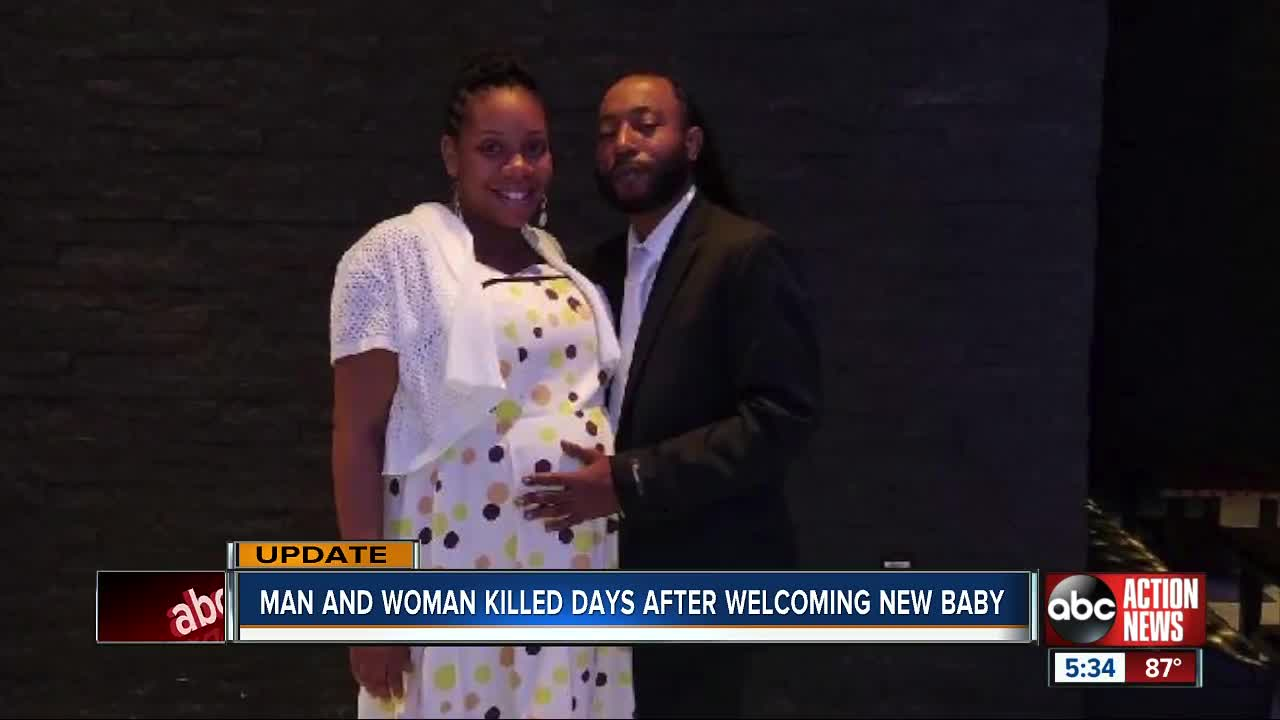 Tampa couple shot to death days after welcoming new baby, police investigating