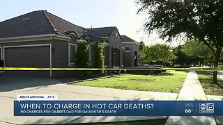 When to charge in hot car deaths?