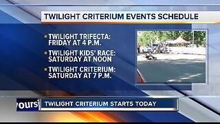 33rd annual Twilight Criterium starts Friday