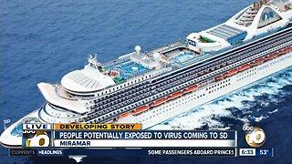 MCAS Miramar prepares for incoming cruise ship passengers