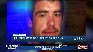 Double Homicide Suspect on the Run