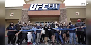 Grand opening of UFC Fit gym in Las Vegas