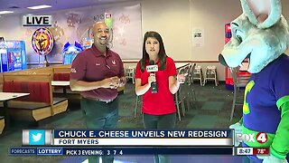 Chuck E. Cheese grand re-opening 08:30 live hit