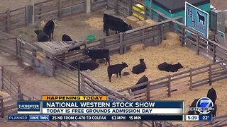 Today is free grounds admission day at National Western