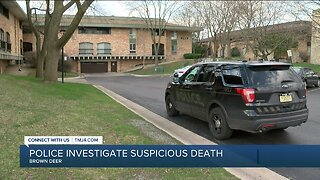 Brown Deer police investigate suspicious death