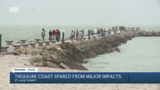 Treasure Coast spared from major impact of Tropical Storm Isaias