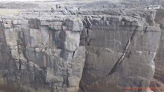 Drone beautifully captures Ireland's majestic cliffs