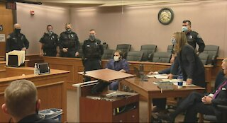 Boulder Colorado shooter appears in court in a wheelchair after killing 10 at grocery store