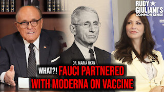 WHAT?! Fauci Partnered With Moderna On Vaccine | Dr. Maria Ryan | Ep. 144
