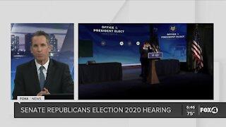 Senate Republicans election hearing