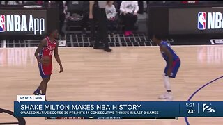 Shake Milton Makes NBA History Hits 14 Straight Threes