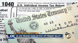California Gov. Gavin Newsom signs bill on presidential tax returns