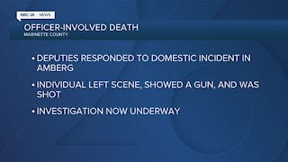 Investigation underway after officer-involved death in Marinette County